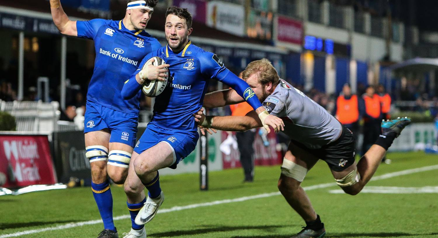 Leinster's Barry Daly scoring a try against Southern Kings in 2018. Picture: INPHO/Gary Carr