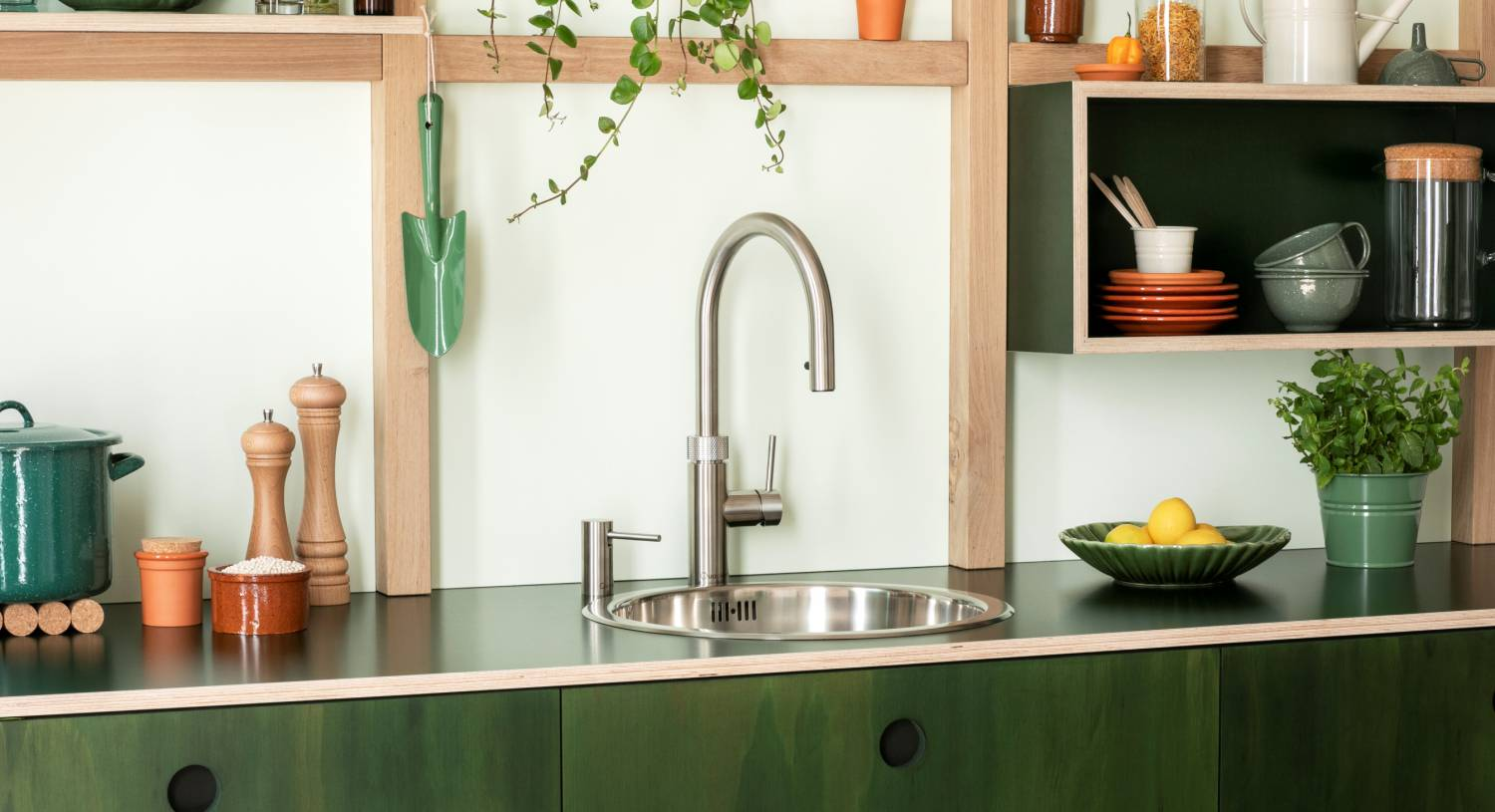See-through fridges and boiling water from the tap. Welcome to your super kitchen