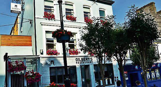 Cobh's small town bistro with global clientele