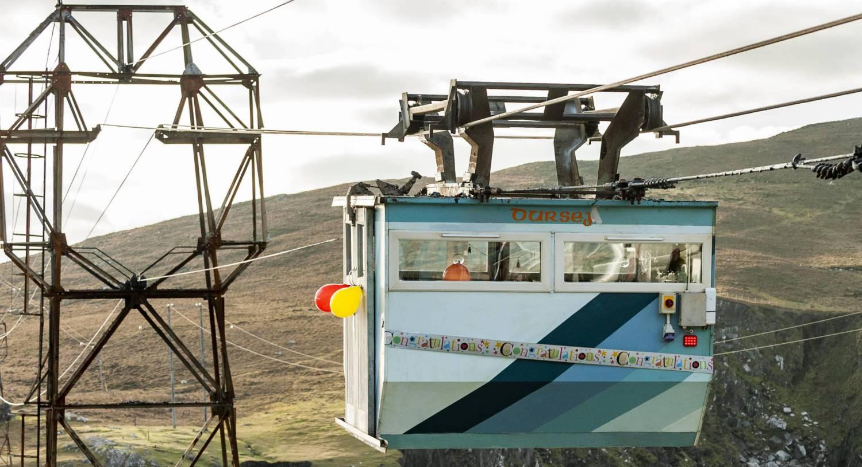The Dursey Island cable car.