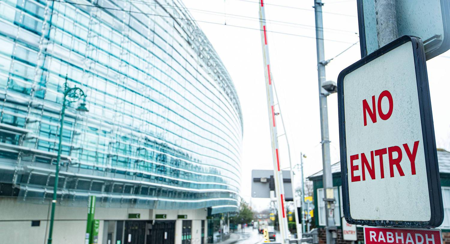 How the Aviva Stadium will be turned into a biosecure bubble