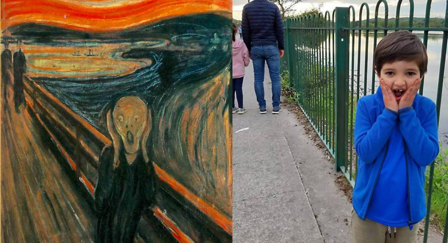 Cork kids put own spin on art masterpieces