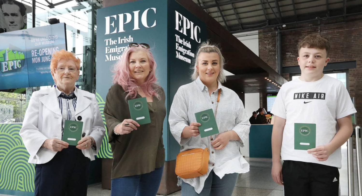 Epic Irish Emigration Museum returns as cultural centres reopen after Covid-19 lockdown