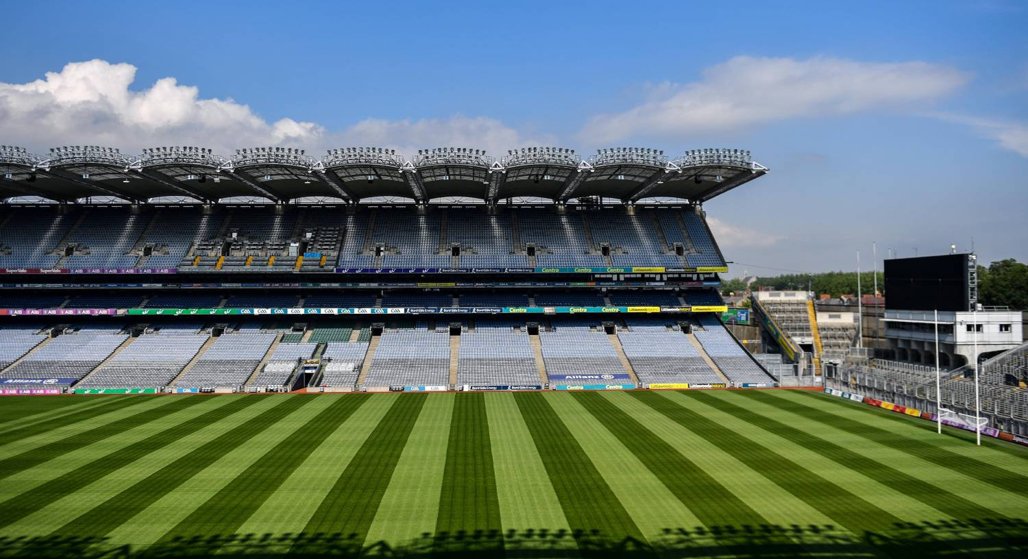 Croke Park capacity will be just over 30,000 at best