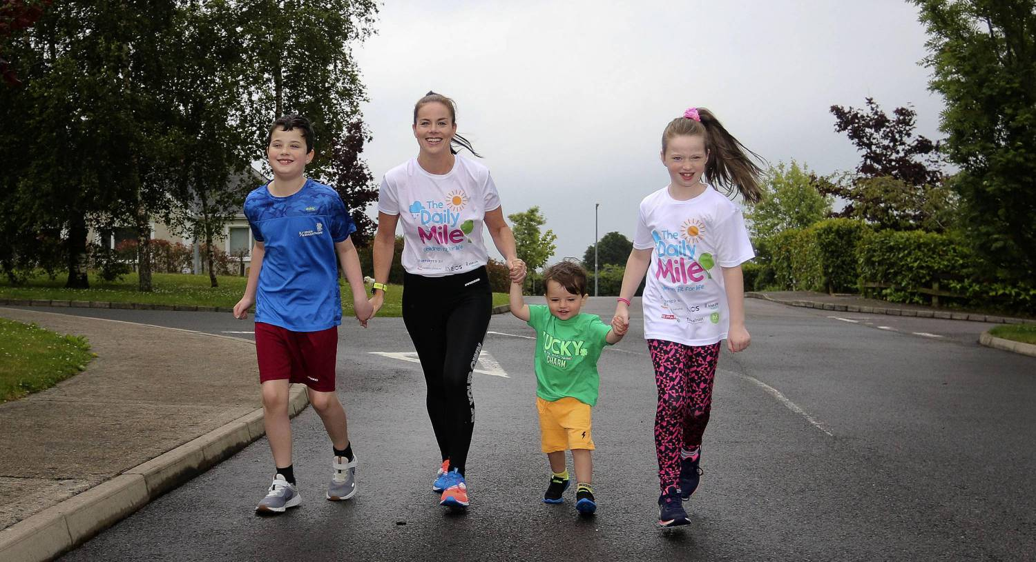 Going the extra mile: Children's exercise initiative aims to tackle growing obesity problem