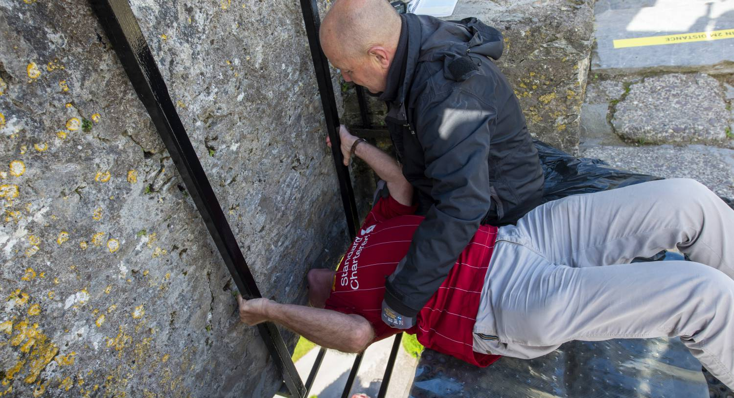 Sanitation station: No hassle at Blarney Castle as world-famous attraction reopens