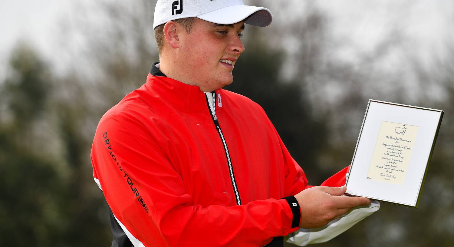 James Sugrue ready to fly when he finally reaches Augusta's Crow's Nest