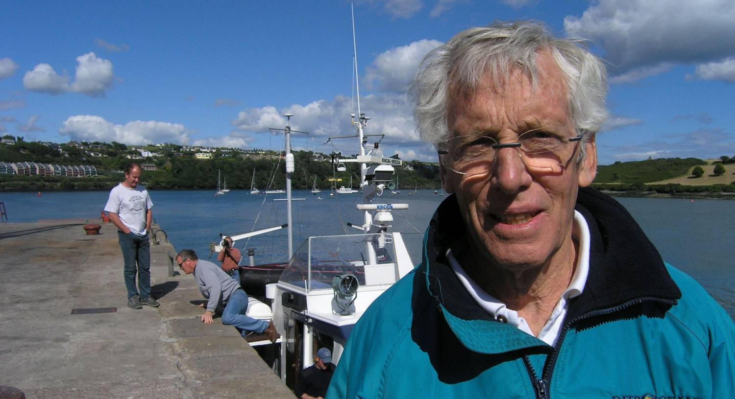 Lusitania wreck donor, Gregg Bemis, hailed as friend and benefactor of Kinsale