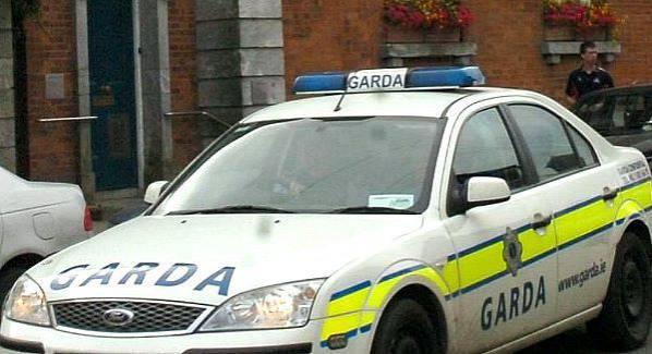 File photo of a Garda car.