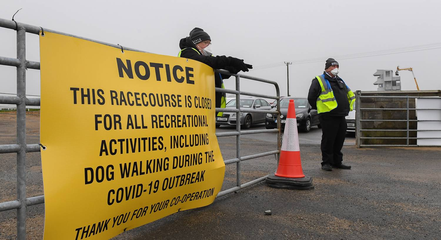 A Day at the Wexford Races: No-one can call this business as usual