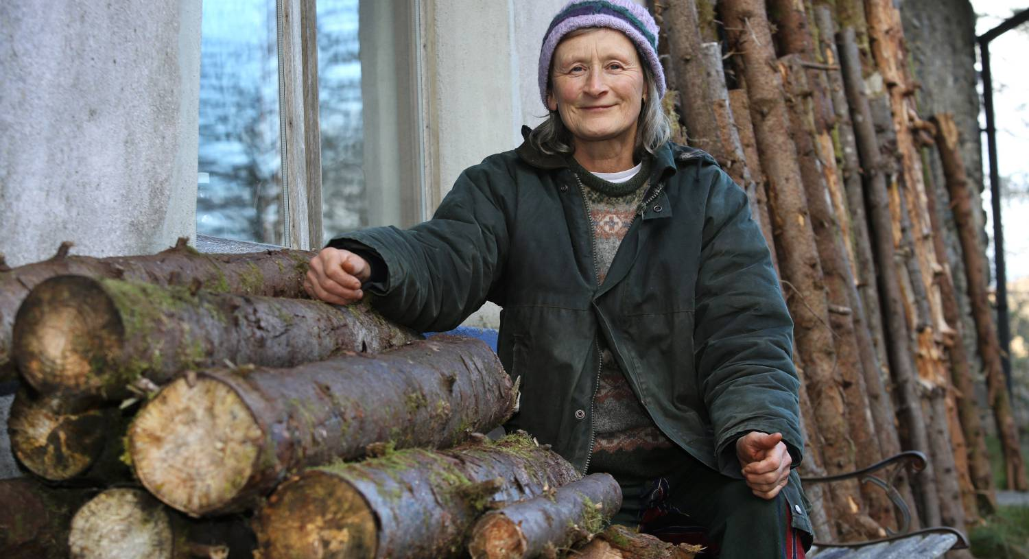 'Conscientious protector with chainsaw in one hand and burning log in the other' convicted of stealing wood