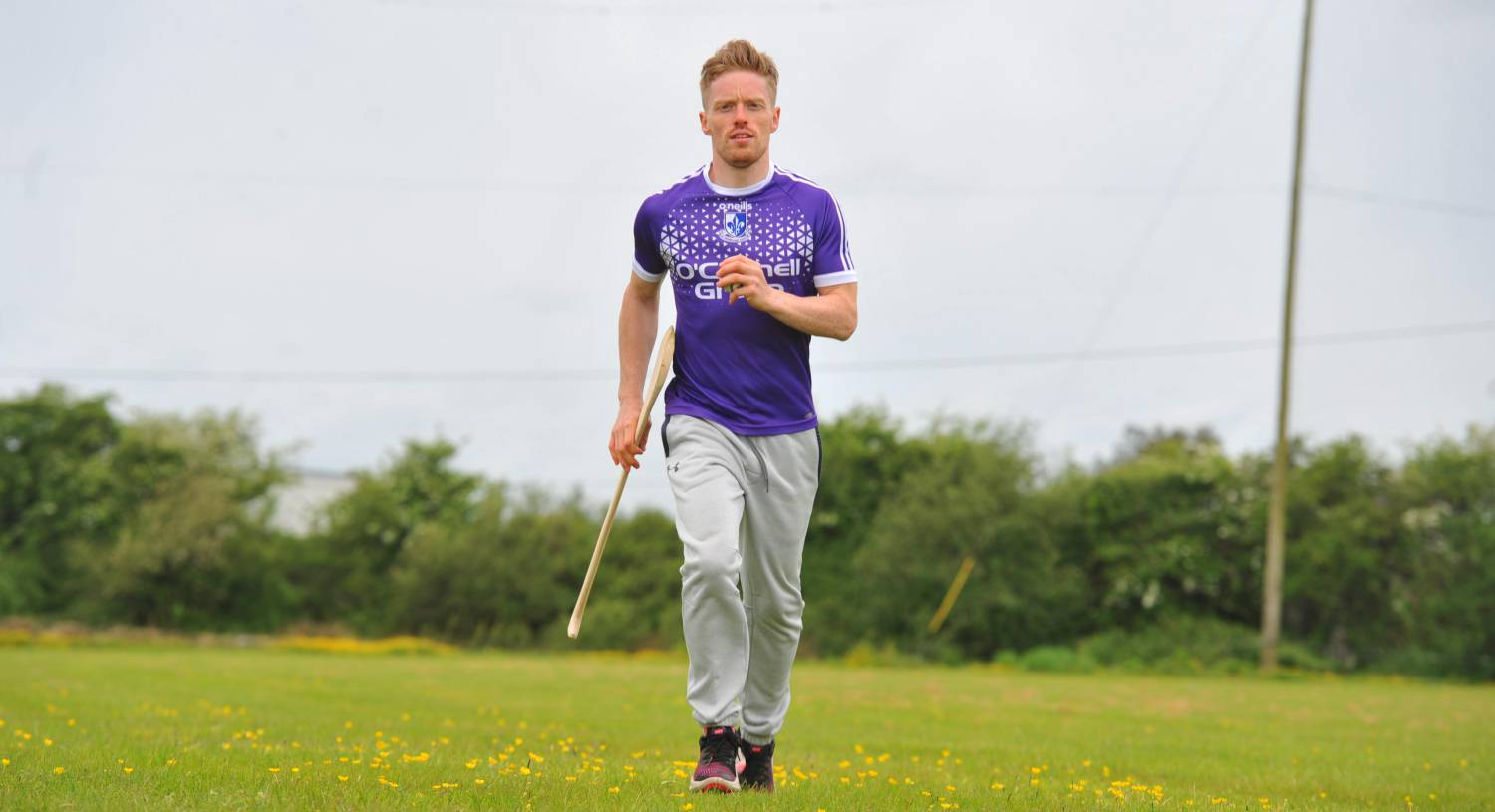 Sarsfields hurler Eoin O'Sullivan was diagnosed with cancer five years ago. He plays between bouts of treatment. Picture: Larry Cummins