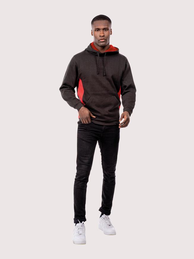Two Tone Hooded Sweatshirt