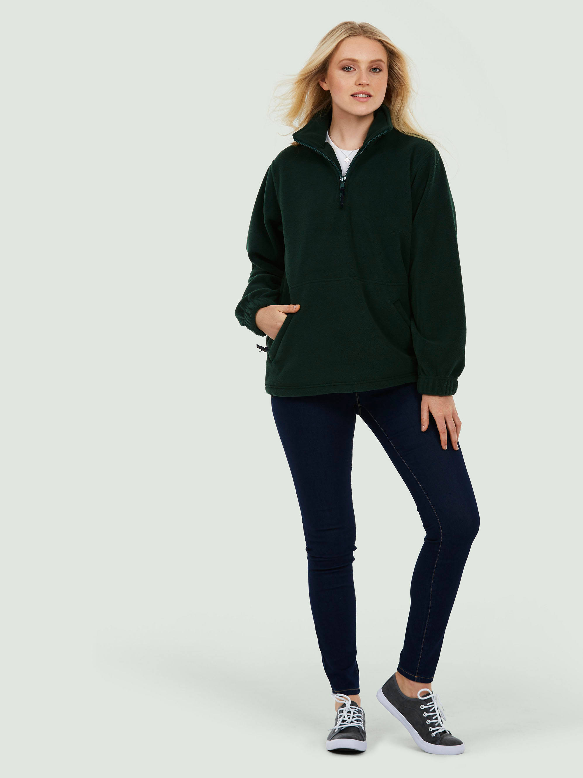 Premium 1/4th Zip Fleece Jacket