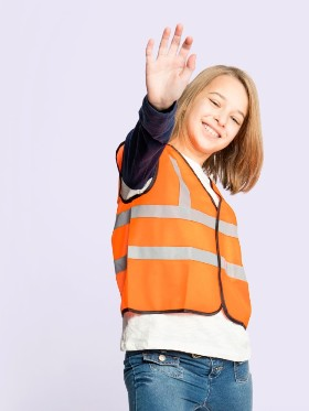 Uneek - Children's High Visibility Waistcoat