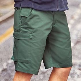 Poly/Cotton Twill Shorts