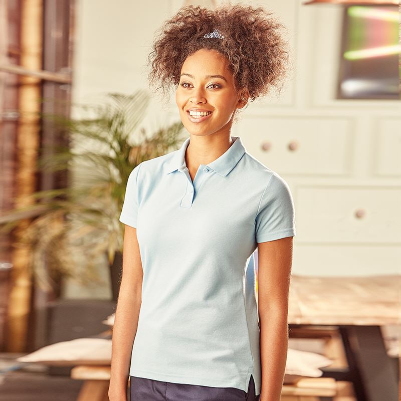 Ladies Poly Cotton Poloshirt Classic