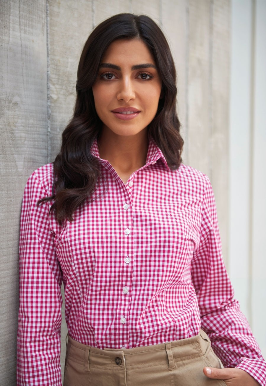 Ladies Kansas Tailored Fit Shirt