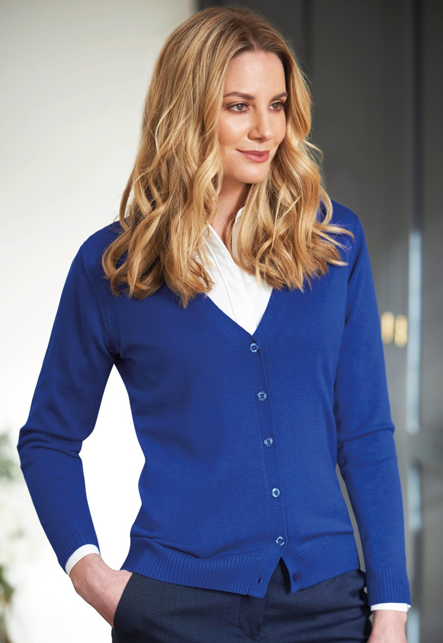 Ladies Augusta V-neck Cardigan