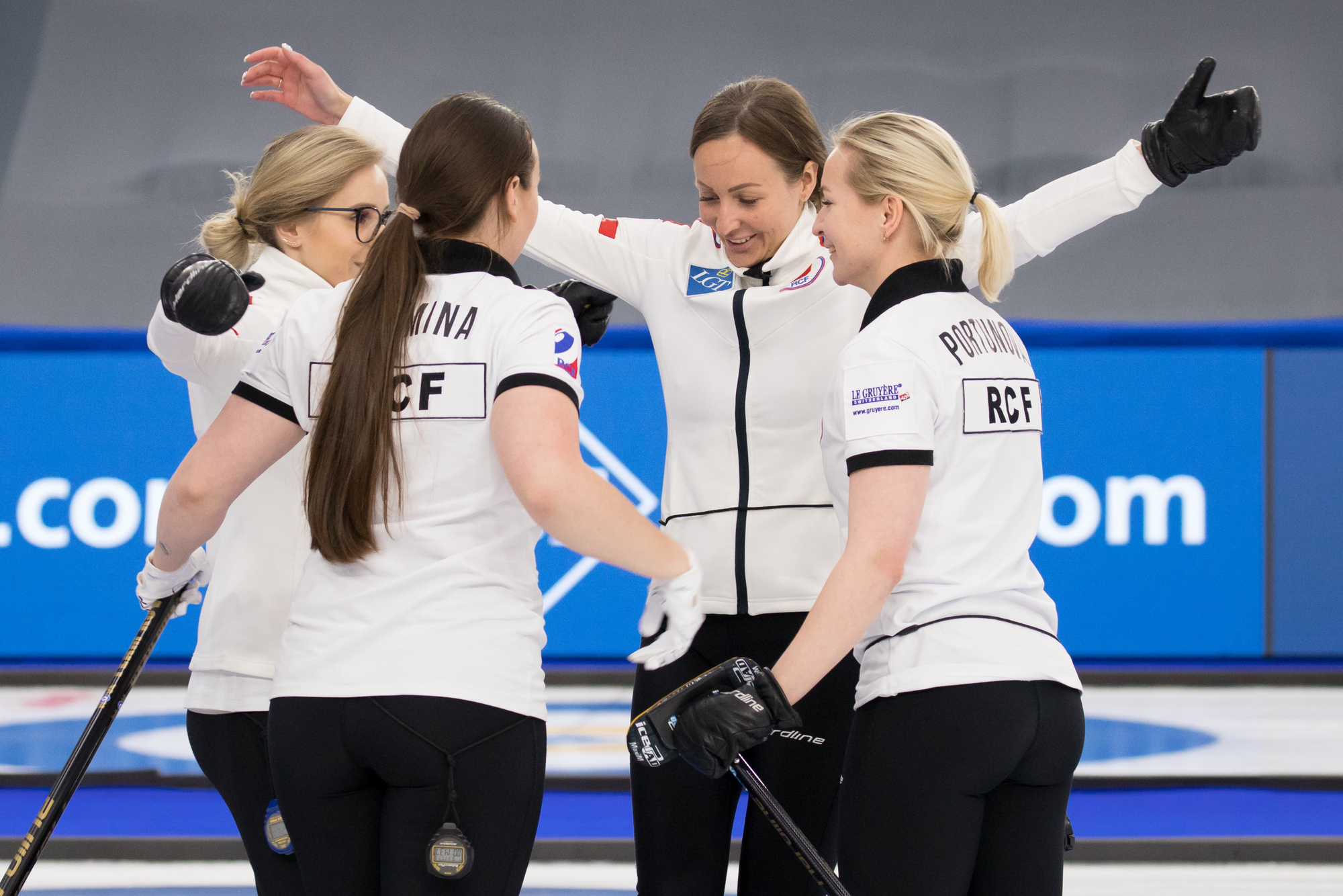 RCF secure play-off place and Olympic Qualification despite loss - World Curling Federation