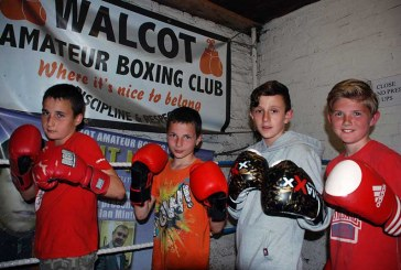 Walcot boxers are going for gold