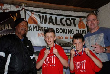Walcot ABC duo win gold at Box Cup
