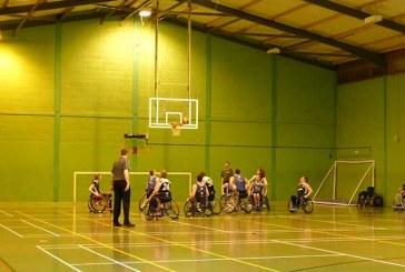 VIDEO: Swindon Shock Wheelchair Basketball v Woking Blackhawks