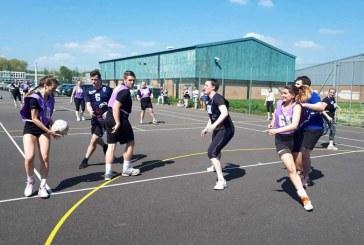 Mixed netball tournament raises £1,900 for children's charity