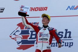 Dutch delight for Swindon's Cook as he wins race of the year