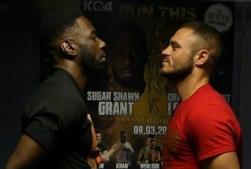 VIDEO: Leadbeater and Grant predict explosive fight