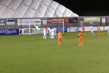 VIDEO: Swindon Supermarine v Bath City highlights
