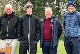 New junior captain Bell drives-in at Wrag Barn Golf Club