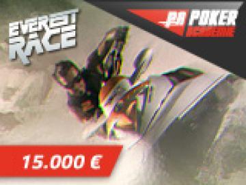 Poker-Académie Races sur Everest: 15000€ à gagner!
