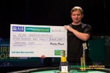 Irish Open 2012 : Une magnifique remontée de Kevin Vandersmissen lui offrant la victoire