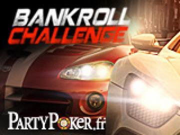 Classement de la PA Bankroll Challenge sur Party Poker