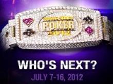 WSOP 2012 Main Event: Qui succèdera à Pius Heinz?
