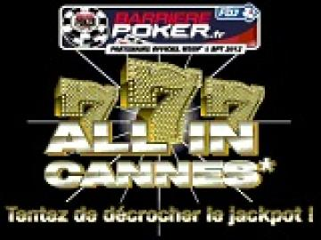 WSOPE: All in Cannes sur Barrière - 46 packages garantis