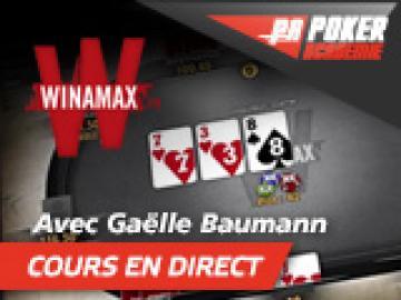 En direct avec Gaëlle Baumann de la Team Winamax !