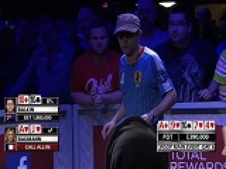 Situation la plus embarrassante des WSOP 2012 ?