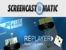 ScreenCast-O-Matic : Poker Replayer Vidéo