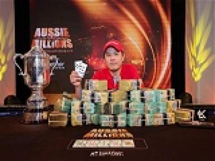 Aussie Million: Mervin Chan vainqueur du Main Event, Patrick Antonius 3ème