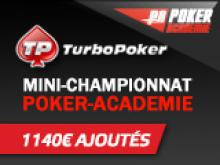 Mini-Championnat Poker-Academie avec 1140€ ajoutés Special DSO Cannes et Xeester