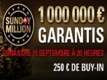 Pokerstars et Sunday Million, une histoire qui dure