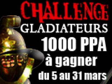 Le Challenge des Gladiateurs PA