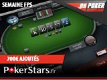 Semaine PokerStars spécial FPS avec 700€ ajoutés