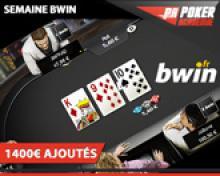 Poker-Académie Freeroll 6max sur Bwin - 150€ ajoutés