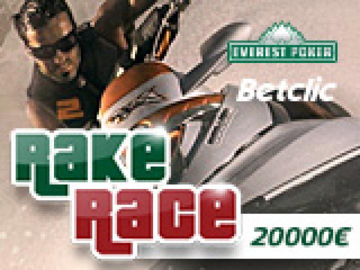 Rakerace 20000€ sur Everest-Betclic avec Poker Académie !