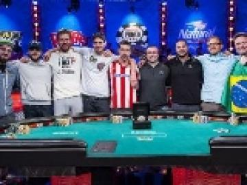 Table finale du Main Event des WSOP 2014 : Présentation des november nine