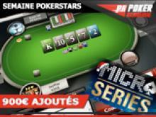 Poker-Academie Micro Series - 250€ ajoutés
