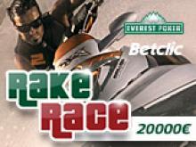 Rakerace 5000€ sur Everest-Betclic avec Poker Académie !